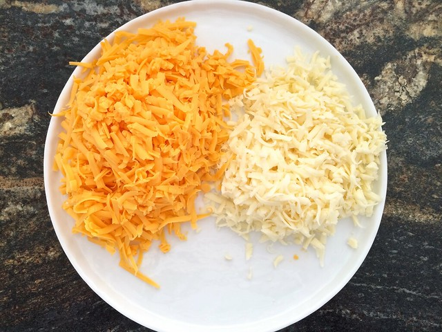 Grated Cheddar and Monteray Jack Cheese