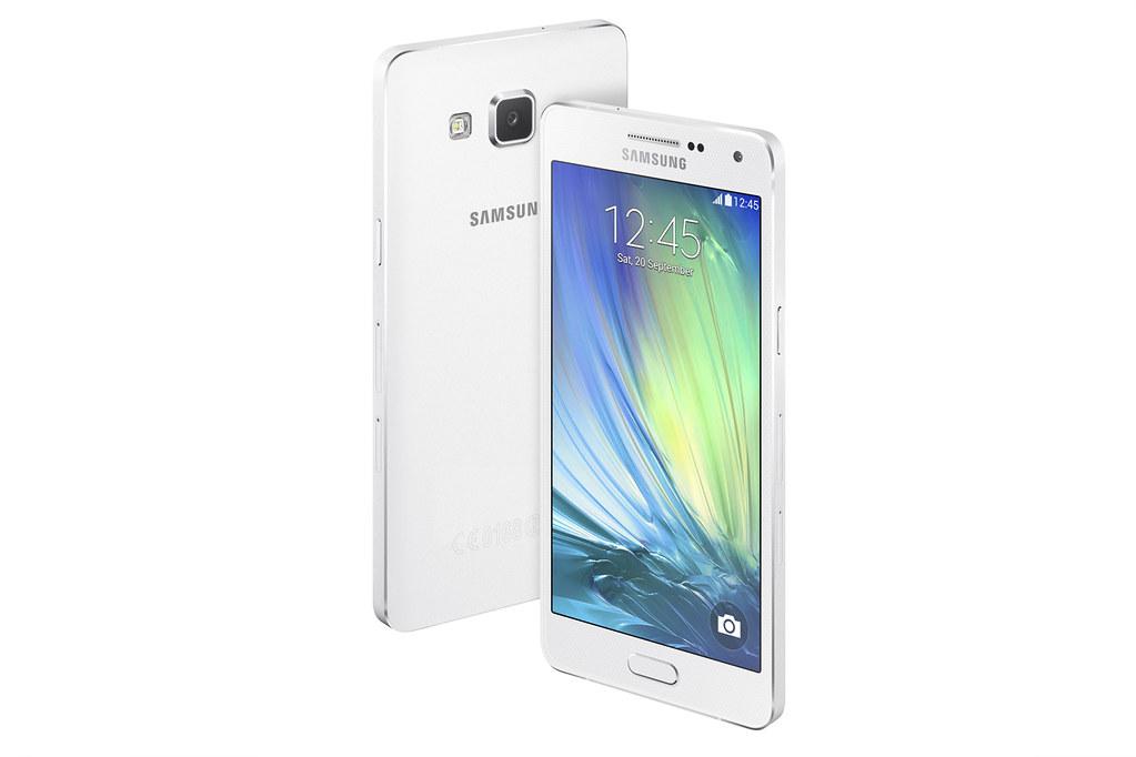 Samsung Galaxy A5 in Pearl White