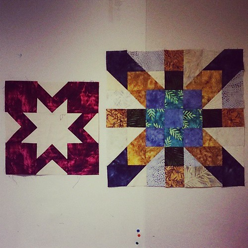 Two things to finish this month: birthday blocks 2012, and the supernova friendship blocks! We got a plan!
