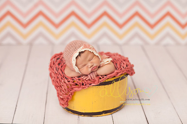 GEOP151 Summer Chevron Photography Backdrops Newborn Kids Baby