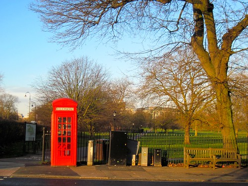 Primrose Hill Red Phonebox