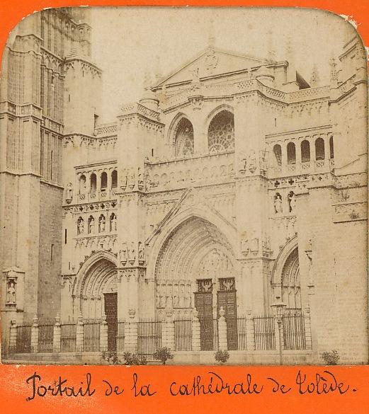 Catedral en 1863. Fotografía de Ernest Lamy