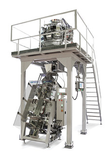 Комбинационный весовой дозатор (мультиголовка) и упаковочный автомат