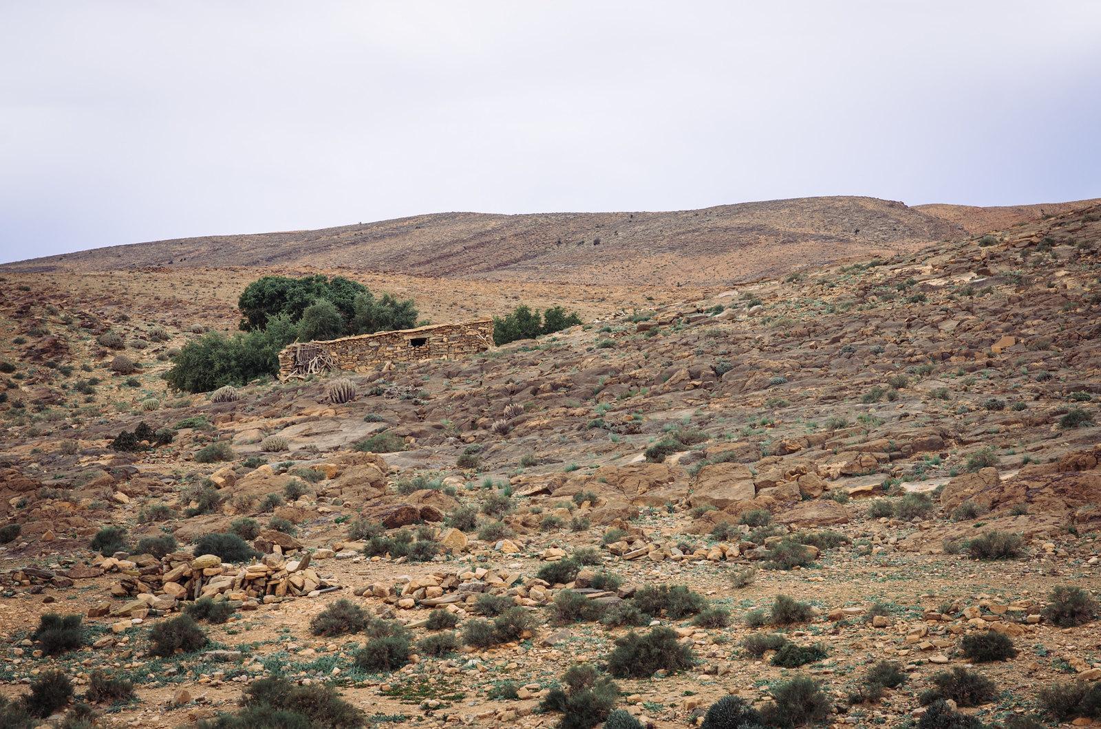 Trek sans guide au Maroc - 5 jours dans l'anti-Atlas - Maison