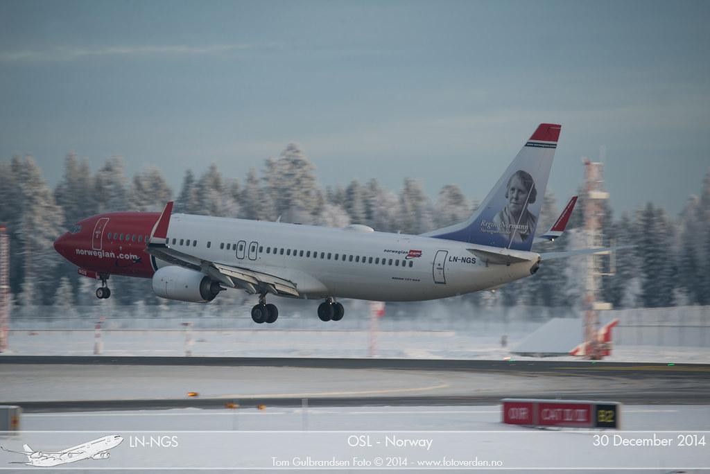 LN-NGS - B738 - Norwegian