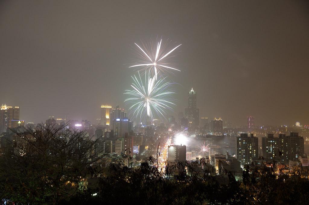 20140204高雄-壽山忠烈祠夜景 (10)