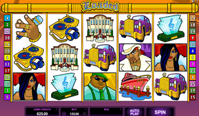 Loaded HD slot game online review