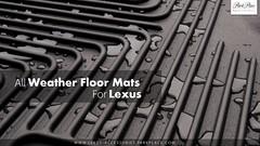 All Weather Floor Mats For Lexus