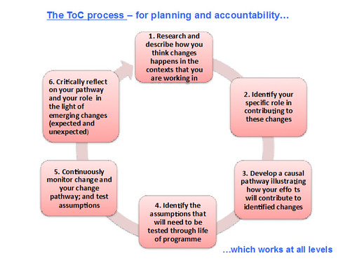 The Theory of Change process for planning and accountability