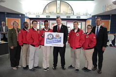 Rep. Tom Cole Visit to City Year Tulsa