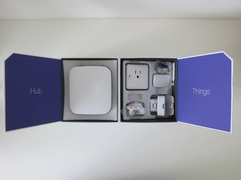Samsung SmartThings - Home Monitoring Kit - Box Open
