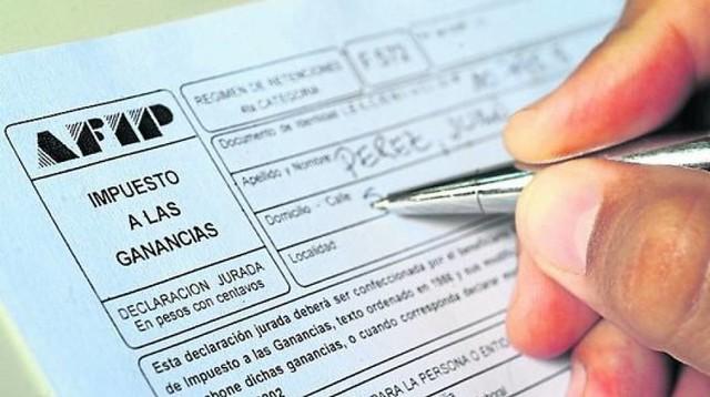 Aguinaldo sin Impuesto a las ganancias