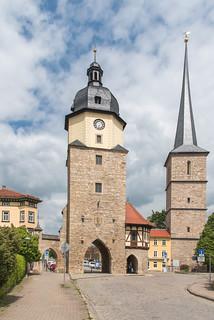 Jakobsturm und Riedturm Arnstadt