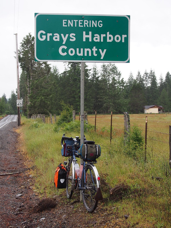 Entering Grays Harbor County
