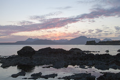 Sunset over the Cuillin