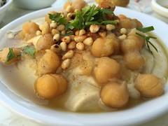 Delicious Hummus in Tel Aviv
