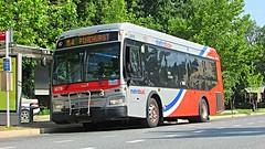 WMATA Metrobus 2012 Orion VII 3G HEV #3078