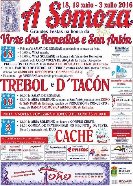 A Estrada 2016 - Festas na Somoza - cartel