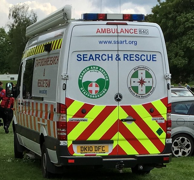 Staffordshire search and rescue-Mercedes Benz sprinter-DK10 DFC