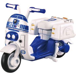 【完整官圖、販售資訊更新】TOMICA 星際大戰系列【R2-D2 & BB-8】重機登場!!