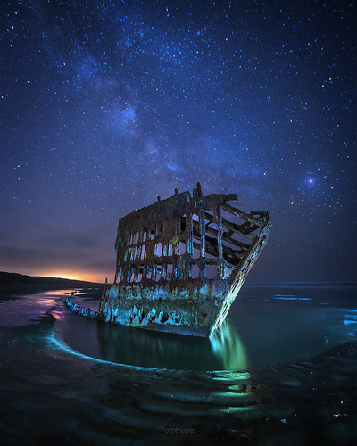 'Sands of Time' - Astoria Shipwreck por Gavin Hardcastle - Fototripper