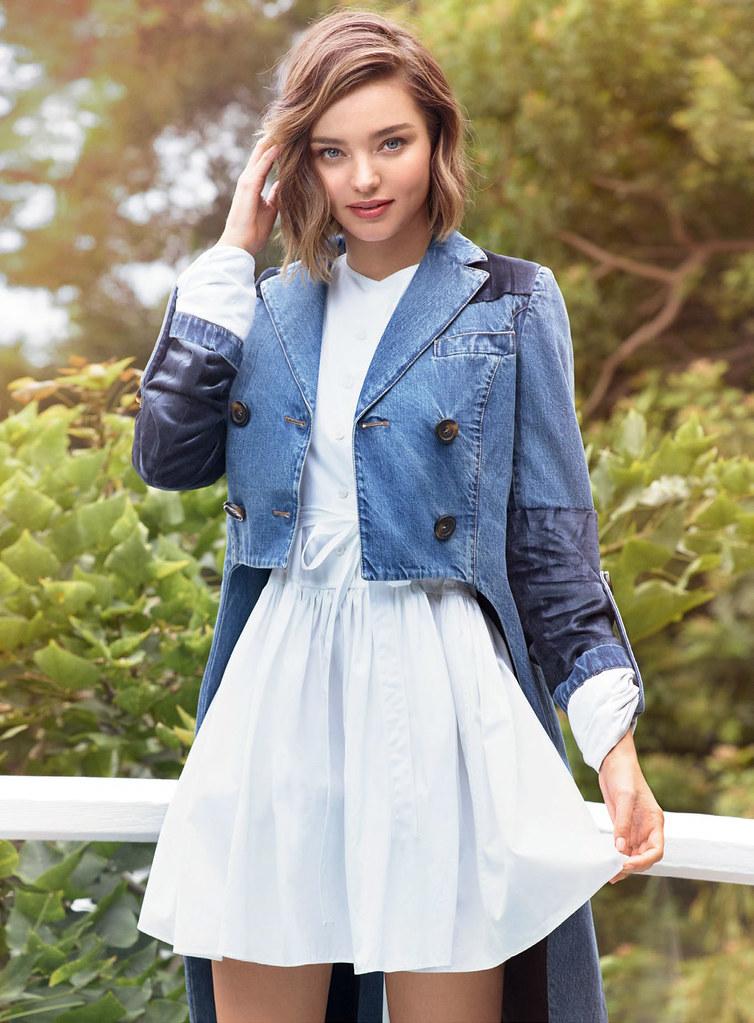 Миранда Керр — Фотосессия для «Elle» BR 2016 – 2