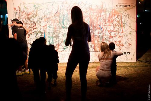 Art Show by Toyota Noche en Blanco