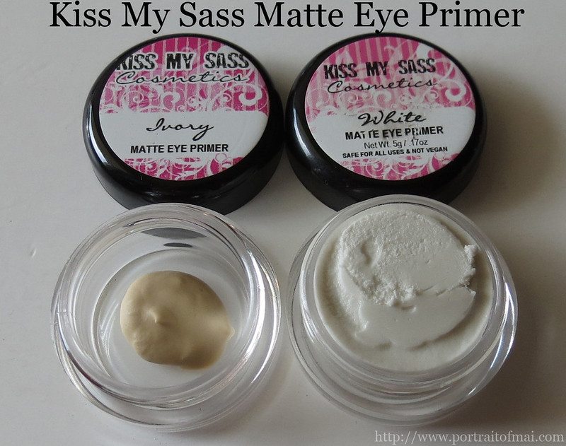 Kiss My Sass Matte Eye Primer