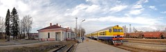 vilciena stacija/ train station