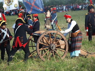 Los visitantes podrán participar de la batalla, gracias a la ambientación de toda la localidad.