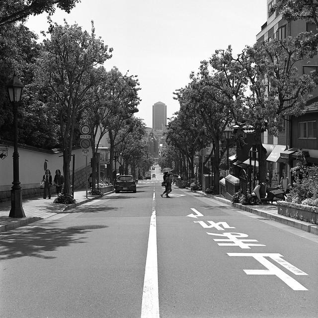 坂の上から/神戸
