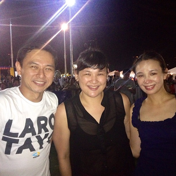 With the hipster senator-elect @sonnyangara and beautiful wife tootsie. This is for you @isabelgatuslao  #wanderlandmusicfest  #igdaily #instadaily #instagram #instagood #instamood #instacool #picoftheday #photooftheday #bestoftheday #webstagram #igersman