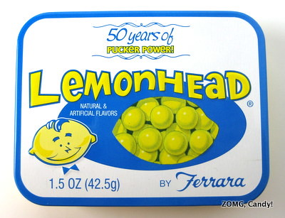 Lemonheads now 50 years old | ZOMG! Candy