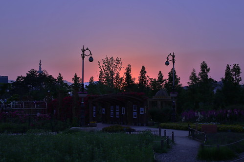 park sunset night landscape lucas clear cannon hdr 동형