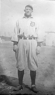 Powell with Detroit, 1913.