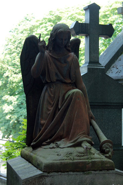 Cimitero di Montmartre: statua