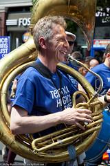 festival, sousaphone, musician, musical instrument, music, brass instrument,