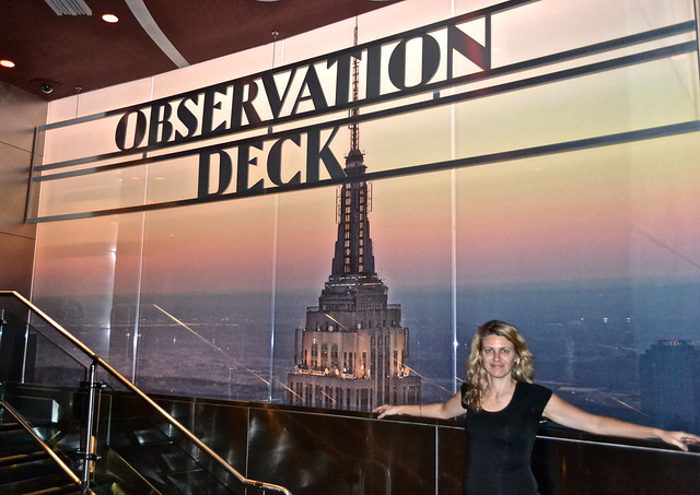 Empire State Building's Observation Deck