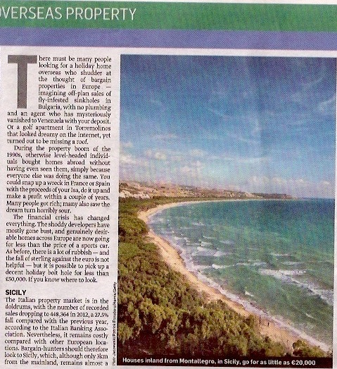 Studio Sicilia Sunday Times 21st July part 1