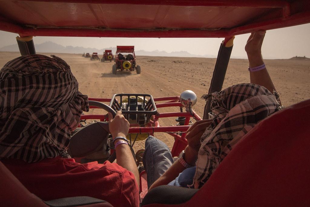 Dune Buggy Backseat