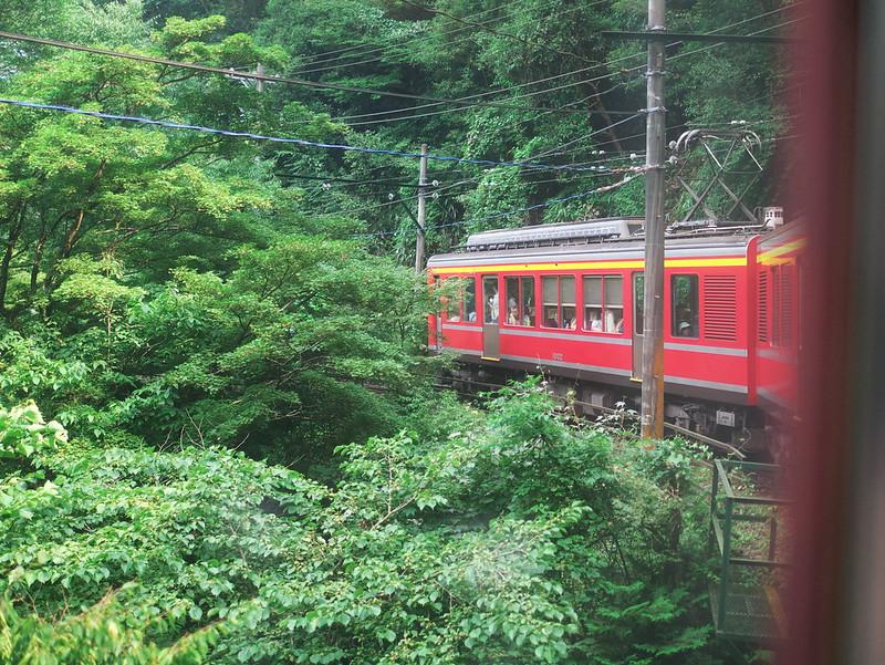 箱根旅行に行くなら乗りたいロマンスカーや登山鉄道