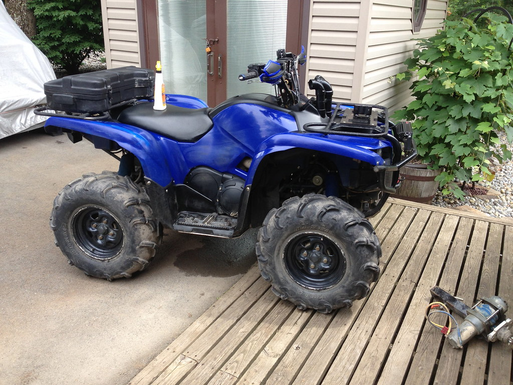 2008 Yamaha Grizzly 700 EPS for sale! - Grizzly Riders