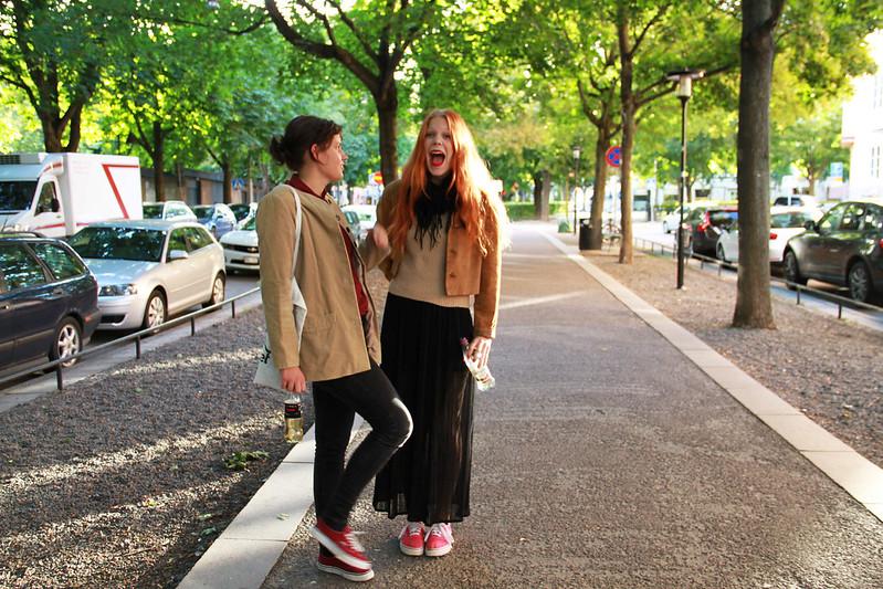 Stockholm med Maria och Johanna!
