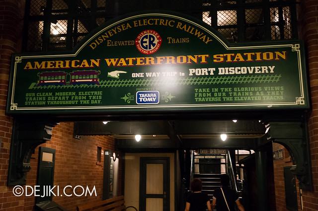 American Waterfront - Disneysea Electric Railway - Entrance