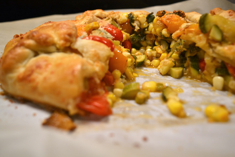 Tomato Zucchini And Corn Galette Things I Made Today