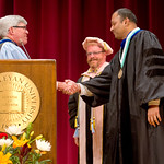 13-036 -- Ram Mohan was invested as the Wendell and Loretta Hess Professor of Chemistry during the President's Convocation on Sept. 4.