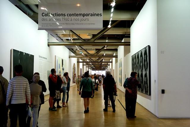 2年に1度の展示替えで60年代以降の現代美術をやってた。