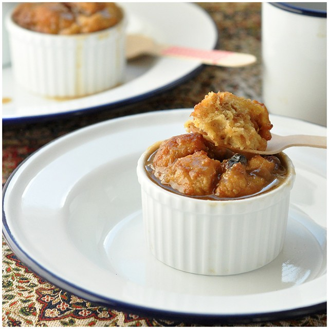 Bread Pudding and Caramel Sauce