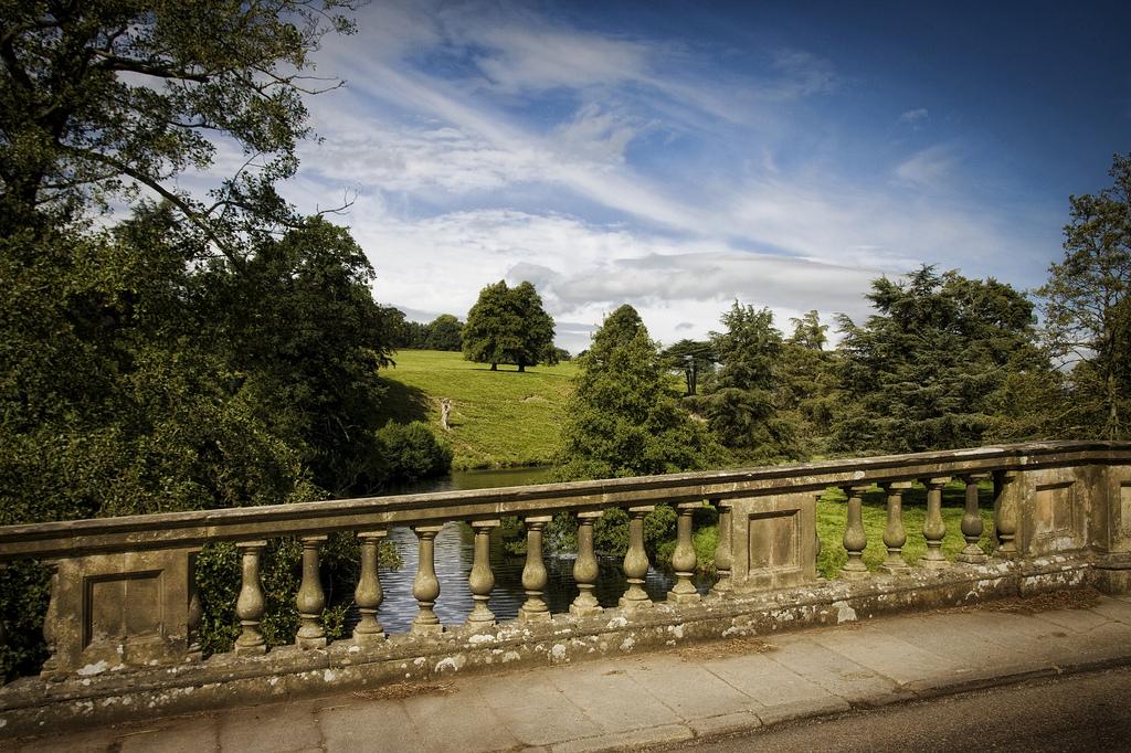 12. Parque desde el puente de la mansión. Autor, Andy Moore