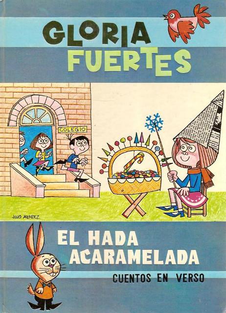 Cubierta de El hada acaramelada